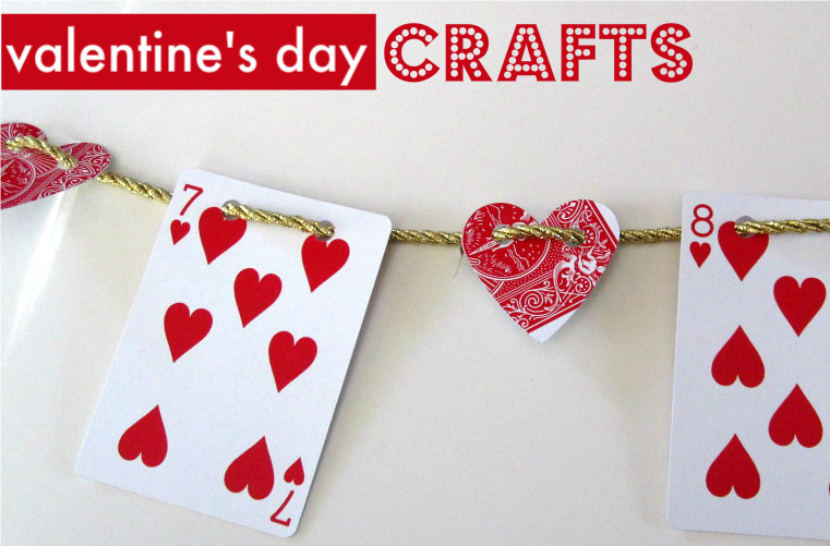 Valentine 39 s day crafts for kids no time for flash cards for Valentine crafts for kindergarteners