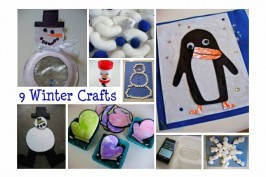 9 Winter Crafts & Activities