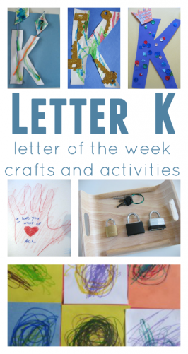 preschool letter of the week curriculum for every letter.