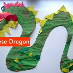 Paint & Paste Chinese Dragon Craft