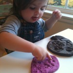 playdough play toddler activity