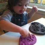 Playdough Play – Toy Prints