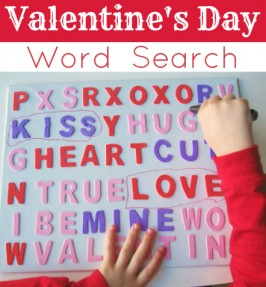 Giant Valentine's Word Search