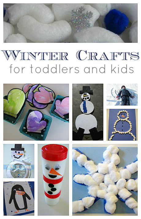 easy preschool winter craft quotes