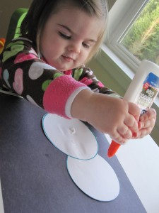 snowman craft for toddlers