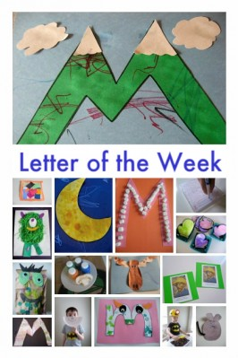 letter m craft