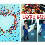 Love Bomb Valentine's Day Craft