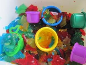 Rainbow Sensory Tub