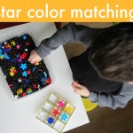 Star Color Matching & Sensory Tub