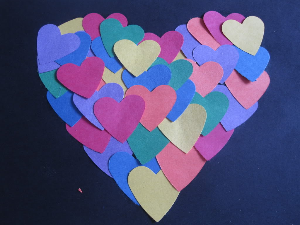paper hearts crafts activities no time for flash cards