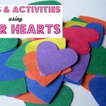Paper Hearts – Crafts & Activities