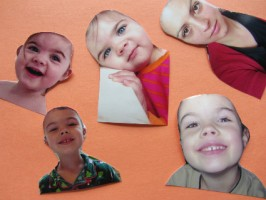 Playdough Play Mats – Silly Hairdos!