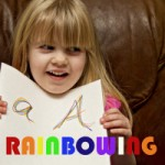 Rainbowing – Colorful Handwriting Practice