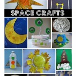 Space Themed Crafts & Books