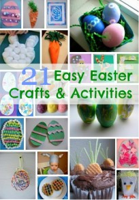 21 Easy Easter Crafts and Treats For Kids