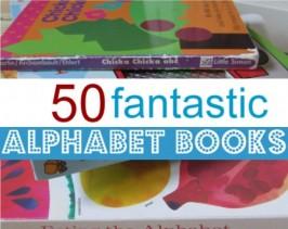 50 Fantastic Alphabet Books For Kids
