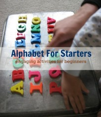 Alphabet For Starters Logo