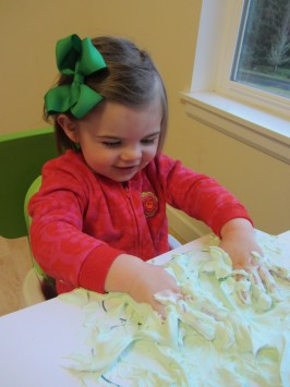 St. Patrick's Day Sensory Play & Craft
