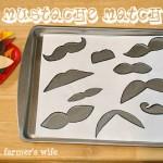 Mustache Match Puzzle