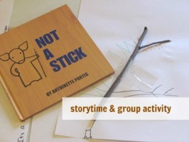 Not A Stick – Story & Creative Activity