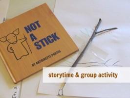 Not A Stick – Story & Creative Activity