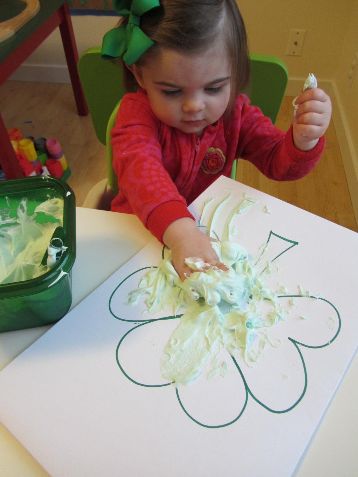 St patricks crafts for preschoolers - She