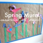 Spring Mural – Cooperative Project For Kids