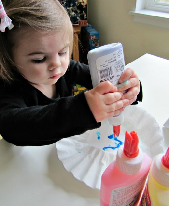 toddlers love crafts