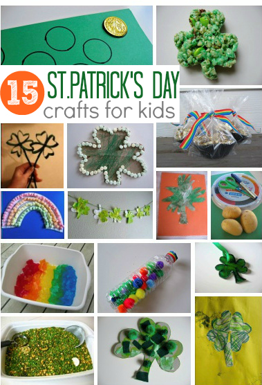 15 easy st patrick s day crafts for kids no time for flash cards