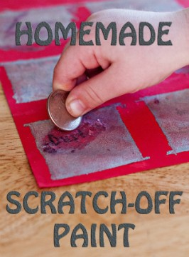 Scratch-Off Chore Chart For Kids