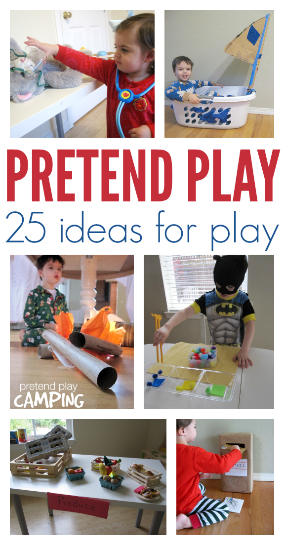 25 Easy Pretend Play Ideas No Time For Flash Cards