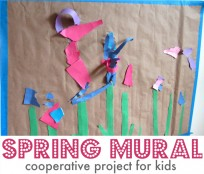 flower craft project for kids