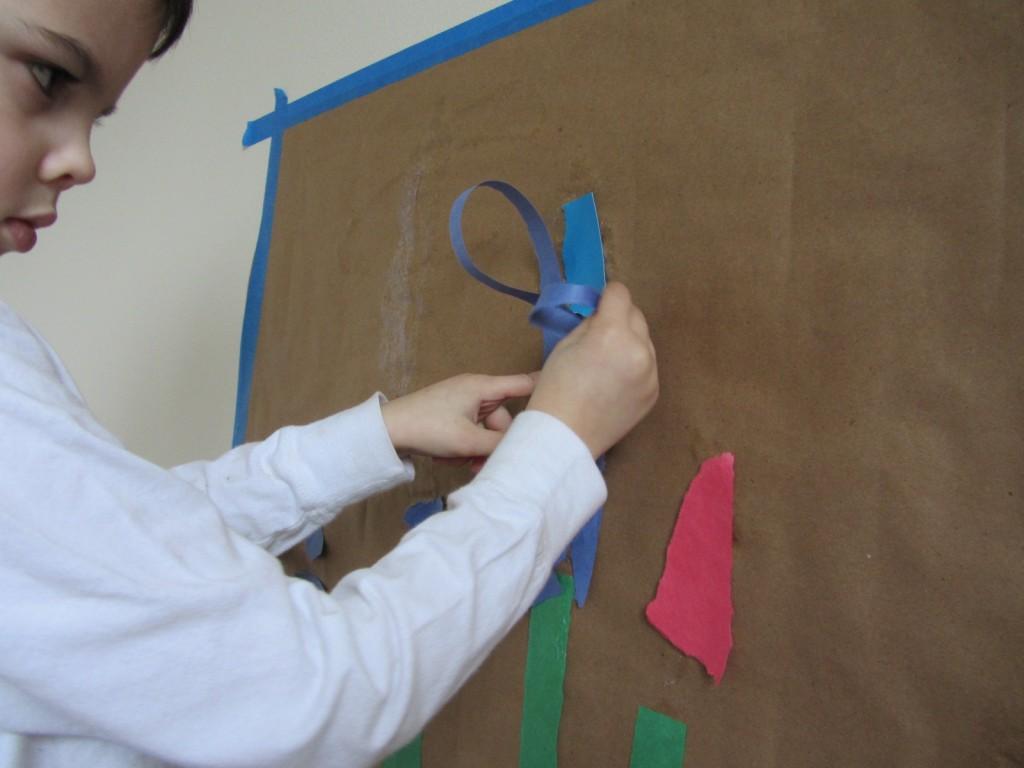 cooperative art project