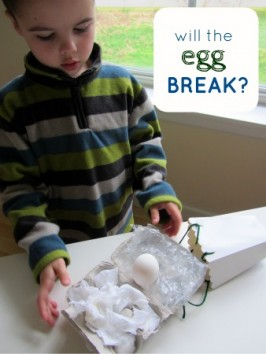 egg toss craft for kids