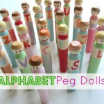Alphabet Peg Dolls – Alphabet For Starters