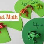 Lily Pad Math – Subtraction Activity