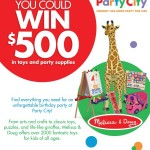 Melissa & Doug Ultimate Birthday Party Sweepstakes