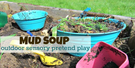 outdoor sensory pretend play