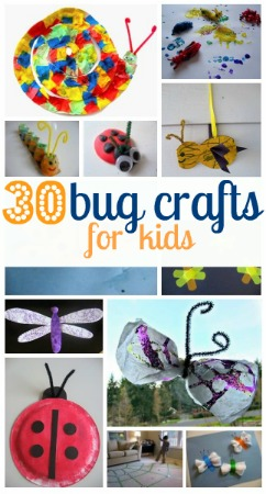 Bug-crafts-for-kids-and-toddlers
