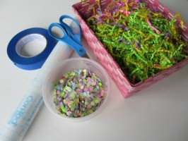 Easter Egg Suncatchers & Messy Play