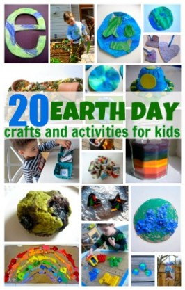 20 Earth Day Crafts & Activities For Kids