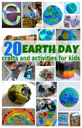 Craft Ideas Elementary Kids on 20 Earth Day Crafts   Activities For Kids   No Time For Flash Cards