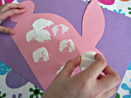 fun easter bunny craft for kids no time for flash cards