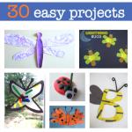 30 Bug Crafts For Kids