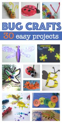 easy bug crafts