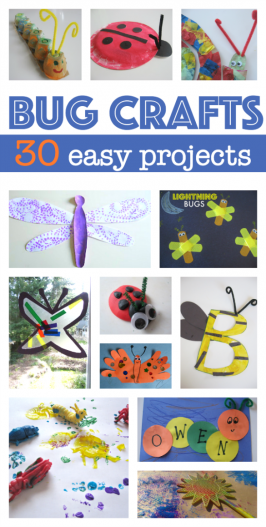 30 Bug Crafts For Kids