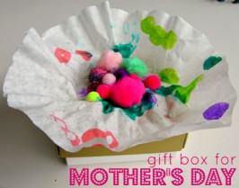 Flower Gift Box – Mother's Day Craft