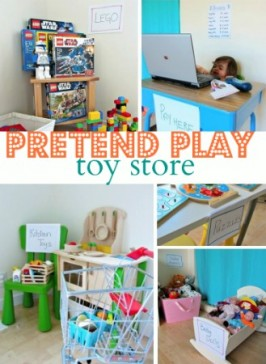 Pretend Play Toy Store