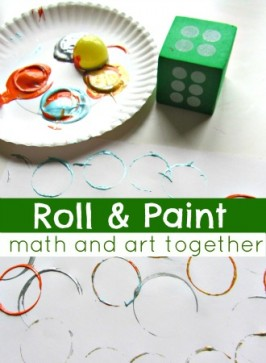 Roll & Paint – Math and Art Together