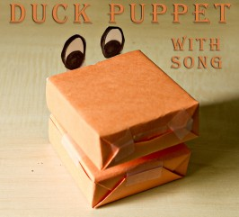 Duck Puppet Craft & Song